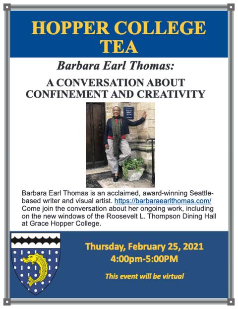 Barbara Earl Thomas Hopper Tea