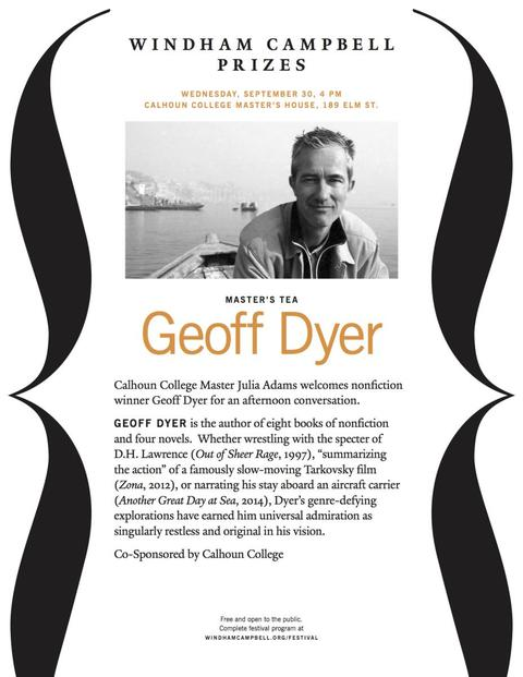 Geoff Dyer Tea